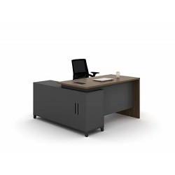 L-Shaped Executive Office...