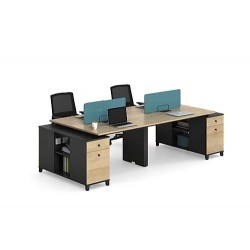 4 Person Office Workstation...