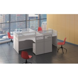 4 Person Modern Office...