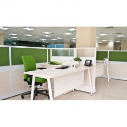 Customized L-Shaped office...