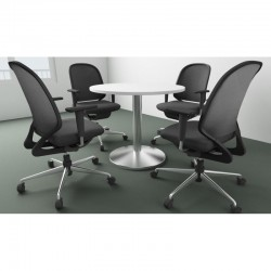 Round Meeting Table in...