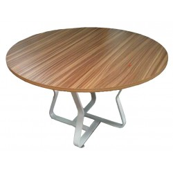 Round Meeting Table Wooden...